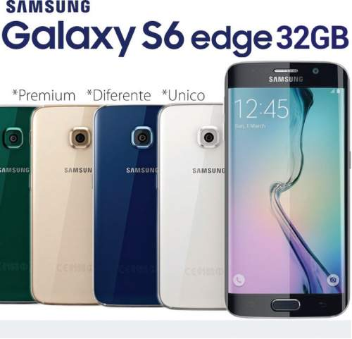 Celular Samsung Galaxy S6 Edge 32gb 4g
