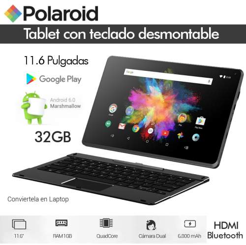 Tablet Polaroid M11 Hd 11.6 Pulgadas Quadcore 32gb   Teclado